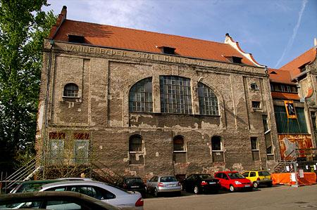 Altes Hallenbad Heidelberg vor dem Umbau Photo Schindelbeck