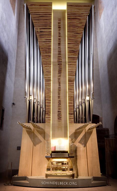 Winterhalter Orgel im Kloster Alpirsbach