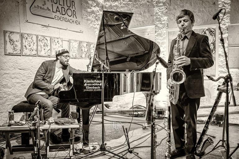 David Helbock mit Random Control beim Jazzme Festival 2019